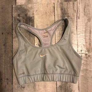 Nike Pro Icy blue sports bra